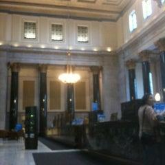 Photo taken at BMO Banque de Montréal by Fauve D. on 3/20/2012
