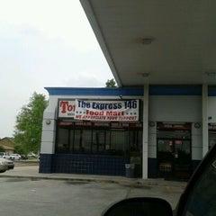 Photo taken at Exxon by Kimberly B. on 5/6/2012