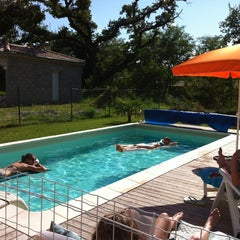 Photo taken at Domaine De La Valdaine by Benjamin P. on 8/6/2012