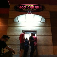 Photo taken at Taco Cabana by Ian R. on 7/24/2012