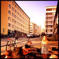 Photo taken at Musta Kissa by Katri K. on 7/29/2012