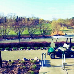 Photo taken at Deerfield Golf Club by Kris O. on 3/19/2012