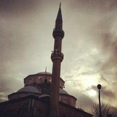 Photo taken at Etiler Camii by Yudum K. on 2/24/2012