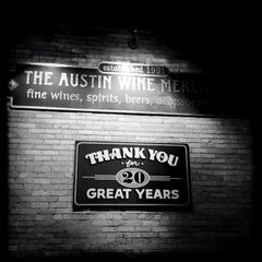 Photo taken at Austin Wine Merchant by Crillmatic on 3/14/2012