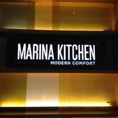 Photo taken at Marina Kitchen by @DowntownRob M. on 5/10/2012