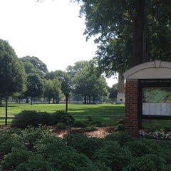 Photo taken at University of Alabama Quad by Donnie M. on 5/19/2012