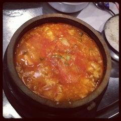Photo taken at Honey Pig Gooldaegee Korean Grill by Cara P. on 7/31/2012