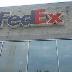 Photo taken at FedEx Ship Center by Jason C. on 8/1/2012
