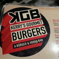Photo taken at KGB: Kerry's Gourmet Burgers by Baek S. on 5/5/2012