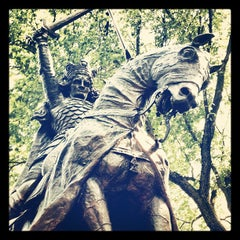 Photo taken at King Jagiello / Poland Monument by Tim H. on 8/30/2012