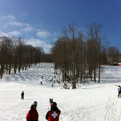 Photo taken at Belleayre Mountain Ski Center by Rich M. on 2/18/2012