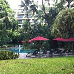 Photo taken at Swissôtel Nai Lert Park Bangkok by Nueng on 6/25/2012