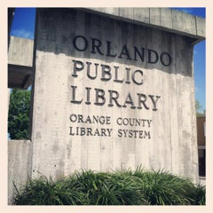 Photo taken at Orange County Library - Orlando Public Library by Michelle L. on 3/12/2012