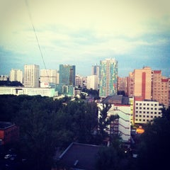 Photo taken at Новочеремушкинская ул., 50 by Anna . on 6/18/2012