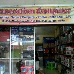 Photo taken at Generation.com merak jingga by Putra S. on 2/26/2012