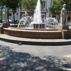 Photo taken at Plaza De Armas by Abdiel A. on 5/7/2012