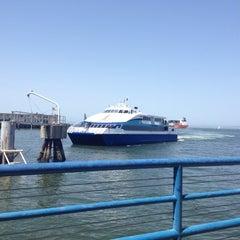 Photo taken at Golden Gate San Francisco Ferry Terminal by Jason B. on 4/29/2012