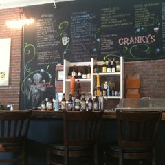 Photo taken at Cranky's Cafe by Cynthia D. on 8/19/2011