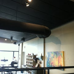 Photo taken at Redtree Art Gallery and Coffee Shop by Nikki@ProjectSocialize on 4/18/2011