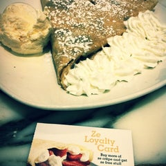 Photo taken at Crepeaffaire by rika k. on 3/1/2012