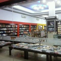 Photo taken at Fajar Agung Book Store by Muhidin D. on 9/22/2011