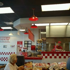 Photo taken at Five Guys by Lloyd S. on 8/26/2011