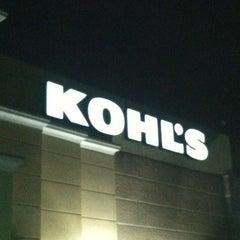 Photo taken at Kohl's by Dorey on 11/11/2011