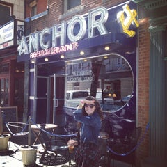 Photo taken at Anchor Restaurant & Bar by emma t. on 8/29/2012