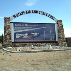 Photo taken at Mojave Air and Space Port by Julie B. on 8/4/2012