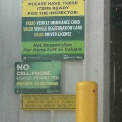 Photo taken at NJ Motor Vehicle Commission by Matthew H. on 10/22/2011