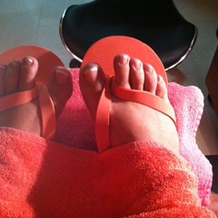Photo taken at K's Nail Bar and Spa by Sylvia T. on 2/21/2012