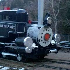 Photo taken at Pikes Peak Cog Railway by Michael B. on 2/9/2012