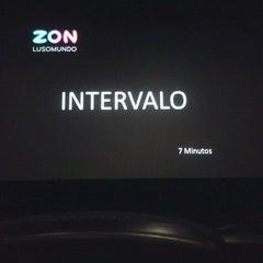 Photo taken at Cinemas NOS Braga Parque by Nuno M. on 9/5/2012