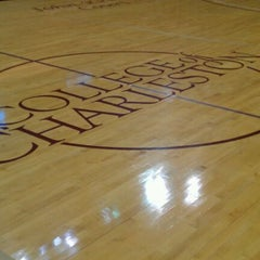 Photo taken at TD Arena, College of Charleston by Greg L. on 2/11/2012
