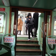 Photo taken at Vaporetto 4.2 To Murano by Angellia M. on 1/1/2012