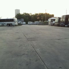 Photo taken at Pacesetter Charters/Greyhound Lot Tulsa, Oklahoma by Kevin on 5/25/2012