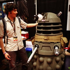 Photo taken at New York Comic Con by Chris P. on 10/16/2011