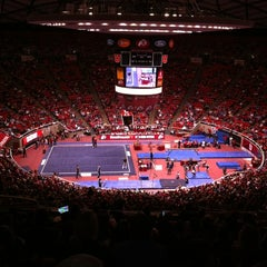Photo taken at Jon M. Huntsman Center by Dave O. on 1/14/2012