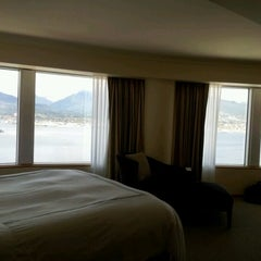 Photo taken at Pan Pacific Hotel by Danielle R. on 4/17/2012