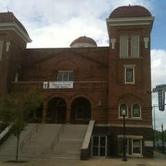 Photo taken at 16th Street Baptist Church by CJ L. on 3/30/2012