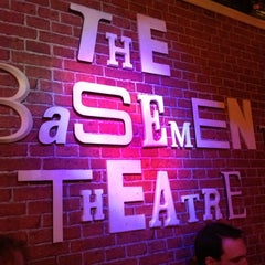Photo taken at The Basement Theatre by StephQJ on 9/1/2012