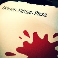 Photo taken at Howie's Artisan Pizza by Kiersten L. on 1/11/2012
