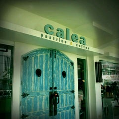 Photo taken at Calea Pastries and Coffee by Ron M. on 8/28/2011