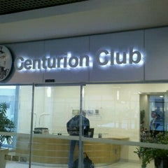 Photo taken at Sala VIP Centurion Club by Adriana L. on 10/18/2011