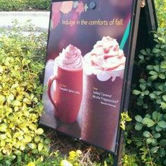 Photo taken at Starbucks by Deedra B. on 9/15/2011