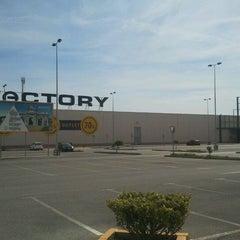 Photo taken at Factory Guadacorte by Eduardo N. on 10/26/2011