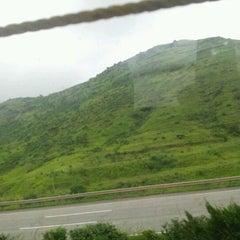 Photo taken at Pune mumbai expressway by Prakrit D. on 9/11/2012