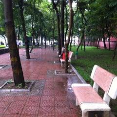 Photo taken at Đại Học Thuỷ Lợi by 5 B. on 9/20/2011