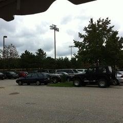 Photo taken at Joe Cannon Stadium by Wendy J. on 9/25/2011
