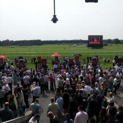 Photo taken at Haydock Park Racecourse by Jonathan W. on 8/11/2012